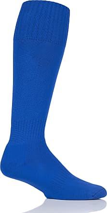 SockShop Mens 1 Pair SockShop of London Made in the UK Plain Football Socks - Royal 6-11