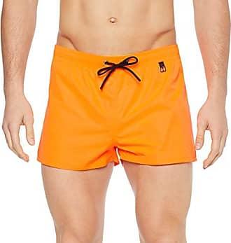 f37ea9635f HOM Sunlight Beach Shorts (Orange Fluo 00jx), Small (Taille Fabricant:S