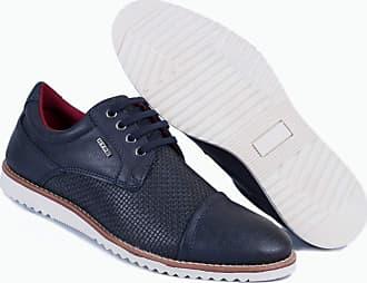 Hype Sapato Casual Masculino Oxford Hype Em Sintetico 1002 (42, Azul Marinho)