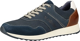 s.Oliver 5-5-13626-24 Mens Trainers Blue Size: 9.5 UK