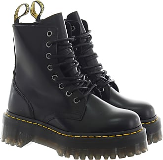 Dr. Martens Anfibio jadon polished smooth in pelle nero 37