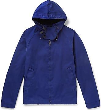 Ten c Shell Hooded Jacket - Navy