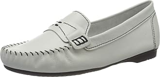 Marco Tozzi Womens 2-2-24225-34 Loafers, Multicolour (White/Navy 184), 6 UK