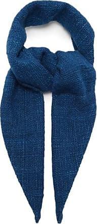 11.11 / eleven eleven 11.11 / Eleven Eleven - Single Spindle Cotton Neckpiece - Mens - Blue