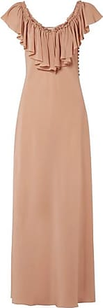 Rosamosario My Cappuccino Silk Dress - Sand