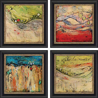 Paragon Picture Gallery Passing Framed Wall Art - Set of 4 - 7615