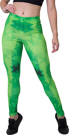 Kaisan Calça Feminina Legging Sublimada Geomgreen