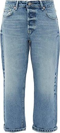 Raey Dad Baggy Boyfriend Jeans - Womens - Mid Blue