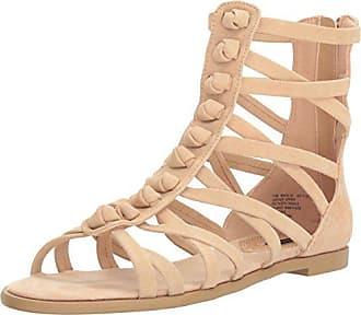 Kensie Kensie Womens Macklin Gladiator Sandal, Nude, 9 M US