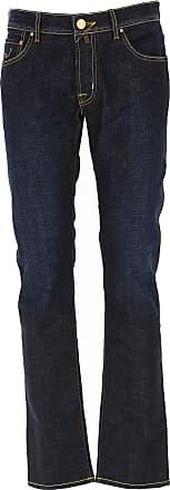 Jacob Cohen Jeans, Bluejeans, Denim Jeans für Herren Günstig im Outlet Sale, Denim Blau, Baumwolle, 2019, 48 49 54