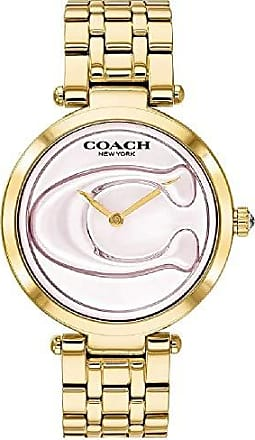 Coach Relógio Coach Feminino Aço Dourado - 14503211