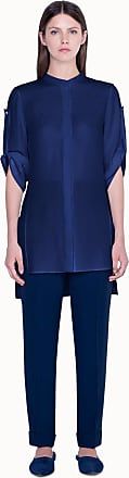 Akris Tunic Blouse with Cropped Sleeves