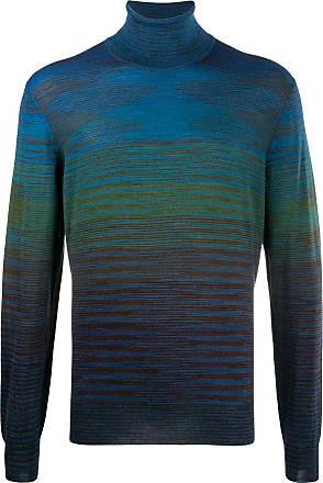 Missoni Suéter de tricô com listras - Azul
