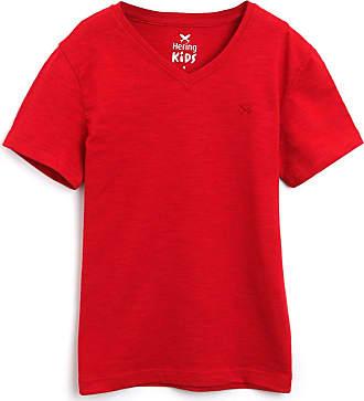 Hering Kids Camiseta Hering Kids Infantil Lisa Vermelha