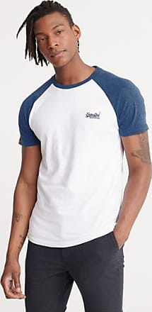 Superdry T-shirt stile baseball a maniche corte Orange Label