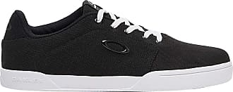 Oakley Mens Canvas Flyer Shoes Black Size: 8.5 UK
