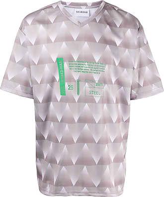 Han Kjobenhavn Camiseta com estampa gráfica - Cinza