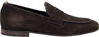 Officine Creative Fashion Man BYRON001CHOCO Brown Suede Loafers | Spring Summer 20