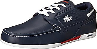 Lacoste Mens Dreyfus Boat Shoe,Dark Blue/White,9 M US