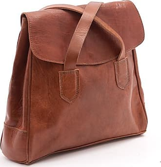 Ismad London Cleo 2-in-1 Backpack - Chocolate - Leather /Brown/Black