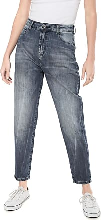 Ellus Calça Jeans Ellus Slim Estonada Azul