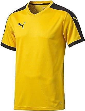 1b3bd93af7 Puma Pitch - Maillot - manches courtes - Garçon - Jaune (Team Yellow/Black