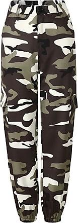 Inlefen Womens Casual Pants Loose Camo Pant Trousers Harem Pants Dance Hip Hop Pants Fashion Leisure Outdoor Sports Woman Long Pants Gray XXL
