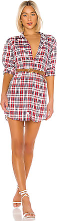Frank & Eileen Mary Shirt Dress in Red