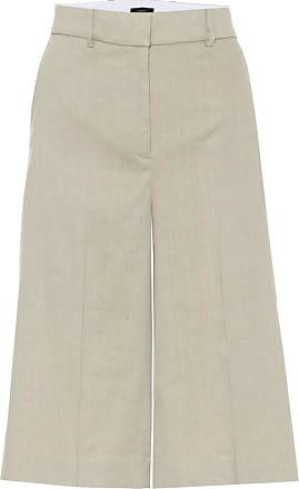 Joseph Samuel wide-leg linen-blend shorts