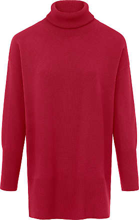 include Roll-neck jumper in wool and cashmere include red