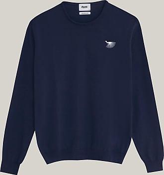 Brava Fabrics Jersey Hombre - Jersey para Hombre - 100% Algodón Orgánico - Modelo Japanese Sky