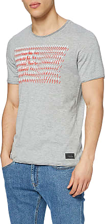 Q/S designed by - s.Oliver Mens 520.12.003.12.130.2036818 T-Shirt, 9400 Grey Melange, M