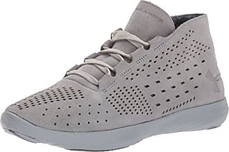 9b092c7927c6 Under Armour Womens Street Precision Mid Lux Sneaker Steel (035) Overcast  Gray 9.5