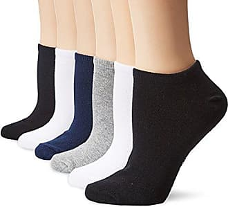Hot Sox Womens 6 Pack Originals Classics Low Cut Socks, Navy, Shoe Size: 4-10