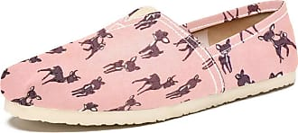 Tizorax Cute Sika Deer Pattern Mens Slip on Loafers Casual Canvas Shoe Flat Boat Shoes