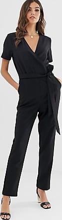 Vero Moda wrap jumpsuit-Black