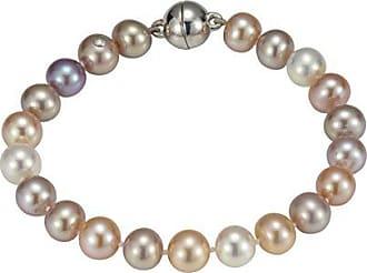 efedfed57450 Adriana Adriana la Mia Perla Mujer de brazo Maduro Premium Natural 925  plata rodiada perlas de