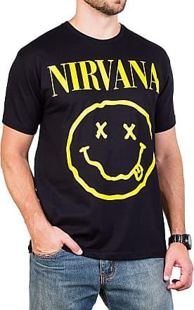 Bandalheira Camiseta Nirvana Smiley Gola c/Elastano