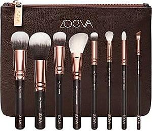 Zoeva Brushes Brush sets Brush Sets Rose Golden Luxury Set Vol.1 106 Powder Brush + 102 Silk Finish Brush + 110 Face Sha 1 Stk