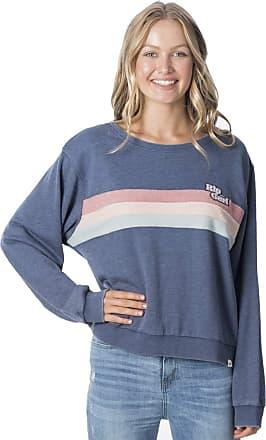 Rip Curl Revival Crew Women,Sweater,Jumper,Round Neckline,Slate Blue,M