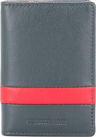 Cerruti stripe detail bifold wallet - Blue