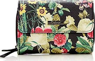 9acaa8b401 Gabor Granada Bloom - Portafogli Donna, Nero (Schwarz), 14x10x4.5 cm