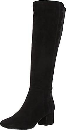 9e88aef6e039 Bandolino Womens Florie Fashion Boot Black Suede 6 M US