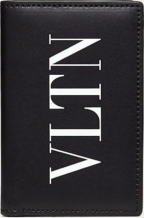 Valentino Garavani Valentino Garavani Uomo Portacarte Vltn Uomo Nero 100% Pelle Bovina - Bos Taurus OneSize
