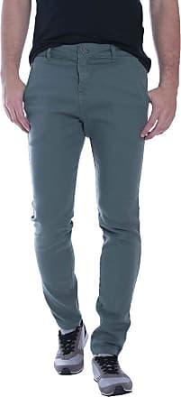 Eventual Calça Jeans Eventual Alfaiataria Verde 34