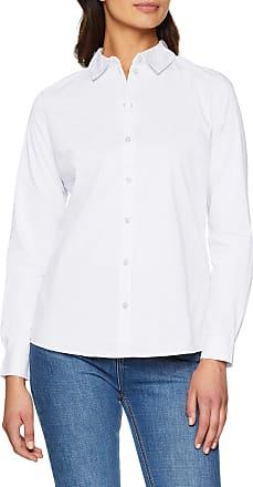Jacqueline de Yong womens JDYMIO L/S SHIRT WVN NOOS Shirt, White (White White), 8 (Manufacturer Size: 36)