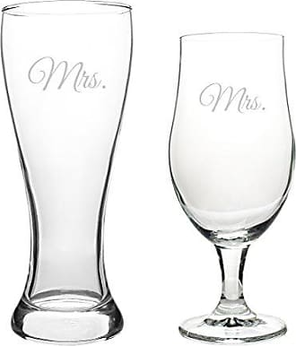 Cathy's Concepts Mrs. & Mrs. Pilsner Set