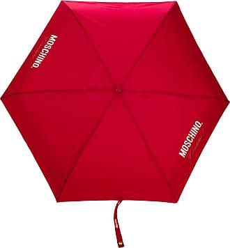 Moschino Ombrello Couture! con stampa - Di colore rosso