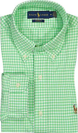 Polo Ralph Lauren Kariertes Hemd, Custom Fit von Polo Ralph Lauren in Gruen für Herren