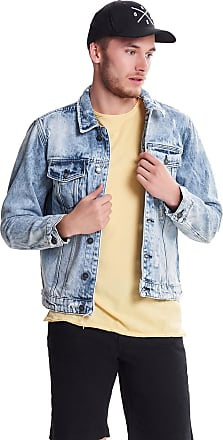 37c0a4ebd507a Only   Sons Mens Rocker Ripped Light Blue Denim Jacket 22010957